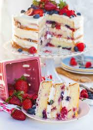 cuisine mascarpone lemon berry mascarpone cake tatyanas everyday food