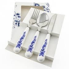 buy cutlery buy cutlery set knife fork spoon heinen delfts blauw