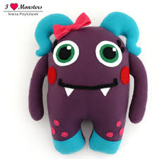 halinka cute monster stuffed toy plush mascot monsters family