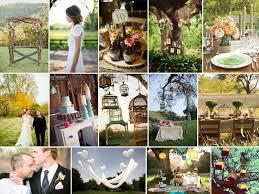 objet deco retro mariage vintage dans la prairie rose fantaisie wedding