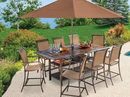 Patio Furniture Dining Sets With Umbrella - patio 48 patio dining set with umbrella patio table umbrella