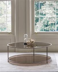 smoked glass coffee tables uk the madison round coffee table tom faulkner