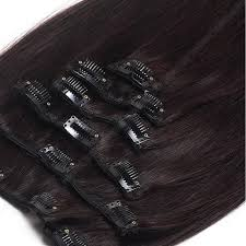 clip in hair clip in hair extensions 100 remy hair 1b brown
