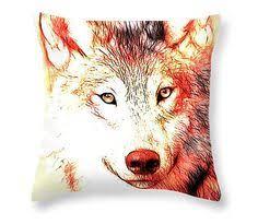 southwestern throw pillow elk home decor by graywolfgallery