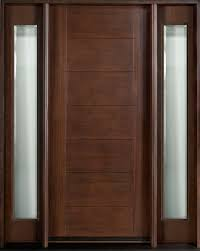 astounding modern entry doors for home with wooden black paneling