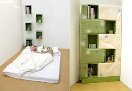 Fold Up Bookcase Clever Ways To Hide A Bed 12 Incredible Ideas Curbly