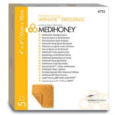 medihoney antibacterial honey apinate dressing derma sciences