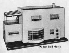 Playful Minitecture 15 Ultra Modern by Paper Doll Miniatures Folding Doors Part Ii Dollhouse