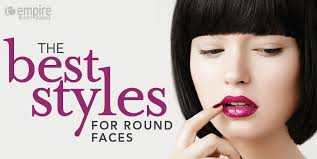 a symetric hair cut round face best hairstyles for round faces
