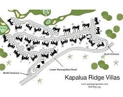 papakea resort map maps of resorts vacation rental resorts