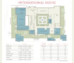 plan floor international house at the of chicago