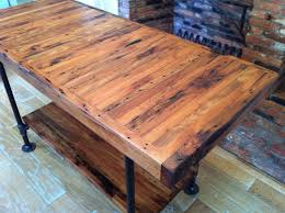kitchen white wooden kitchen island with wooden countertop and rustic rectangle butcher block home depot with metal legs for nice kitchen idea