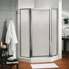 Maax Shower Door Maax 137720 Silhouette Plus 70 X 36 Neo Angle Pivot Shower Door In