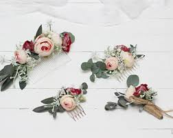 floral accessories wedding set floral accessories pastel wedding flower