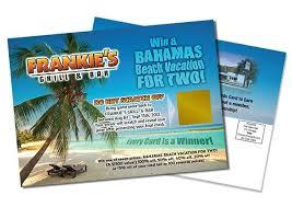 photo postcard scratch postcards custom printed promo printing