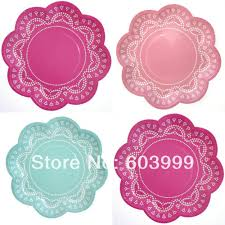 200 packs x doily print partyware stylish unique party products