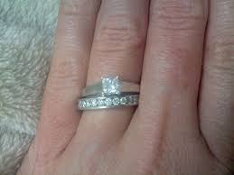 Difference Between Engagement Ring And Wedding Band by Help With Wedding Band Weddingbee