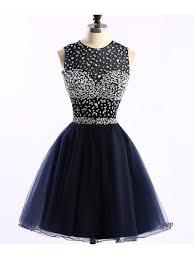blue graduation dresses navy blue beaded prom homecoming graduation dresses 99602763