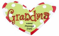 personalized grandparent ornaments
