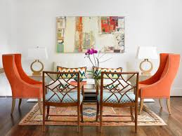 orange accents for the home a change of space