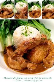 recette cuisine japonaise facile 1 recette 1 minute poitrine de poulet au miso et à la moutarde