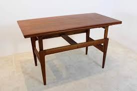 extendable kai kristiansen rosewood elevator table denmark 1960 u0027s
