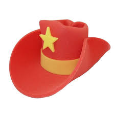 cowboy hat halloween giant foam cowboy hat
