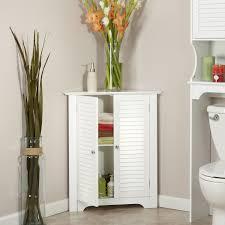 furniture white corner hutch retro corner cabinet unfinished