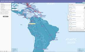 Alitalia Route Map by Using Avios For South America Points To Point B