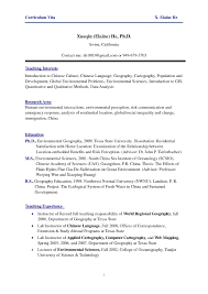 Resume Format For Overseas Job Resume Format For Foreign Jobs