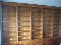 Bookcase With Doors Plans by Furniture Corner Brown Mahogany Book Shelves Which Equipped With