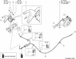 mazda 3 service manual parking brake cable removal installation