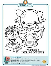 octonauts coloring pages 44 best octonauts images on pinterest disney junior 3rd