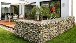 low cost gabion fence cheaper than block stone gabion walls are