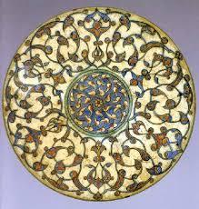 Ottoman Pottery And Ottoman Pottery Lid Louvre