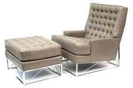 modern chair with ottoman modern chair and ottoman kroehler avant mid century modern chair and
