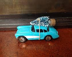 corvette ornament etsy