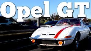 1970 opel regular car reviews 1970 opel gt youtube