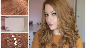headkandy hair extensions review copper milk blush hair extensions dying review