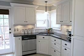 Oven Backsplash Undermout Stainless Steel Sink Neutral Kitchen