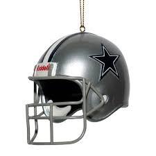 dallas cowboys replica helmet ornament