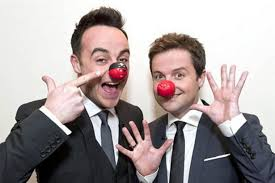 Challenge Nose Ant And Dec In Tv And Radio Gatecrash Challenge For Nose Day