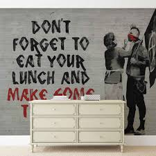 banksy graffiti wall mural for your home buy at abposters com price