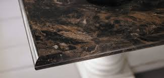 make your laminate counters look luxe with unique edging