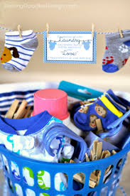 baby shower gift basket poem laundry gift idea baby shower clothesline how to make in