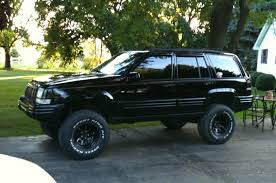 jeep cherokee black with black rims xnickx23x 1997 jeep grand cherokee specs photos modification