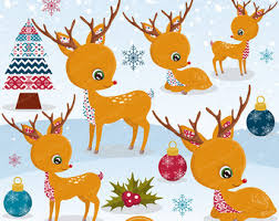 Commercial Foil Christmas Decorations by Gold Christmas Clipart Christmas Ornaments Deer Christmas