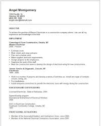 Electrician Apprentice Resume Sample by Lineman Resume Template Billybullock Us