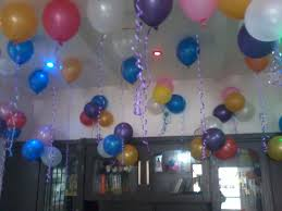 Birthday Home Balloons Decorations