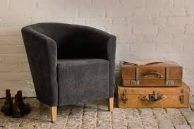 the fabric tub chair handcrafted by indigo furniture